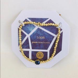 Gorjana Lapis Wisdom bracelet